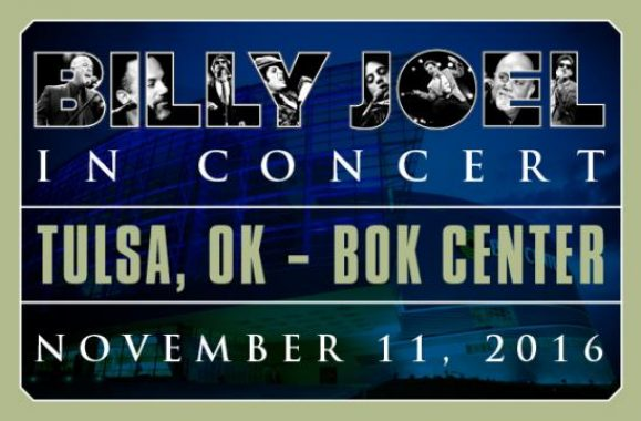 Billy Joel Announces Concert November 11 At Tulsa BOK Center