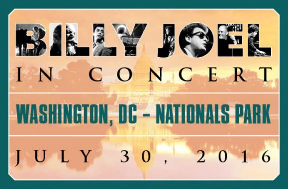 Billy Joel Returns To Nationals Park Washington, DC July 30