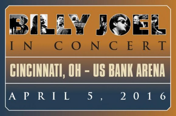 Billy Joel To Perform In Cincinnati April 5, 2016