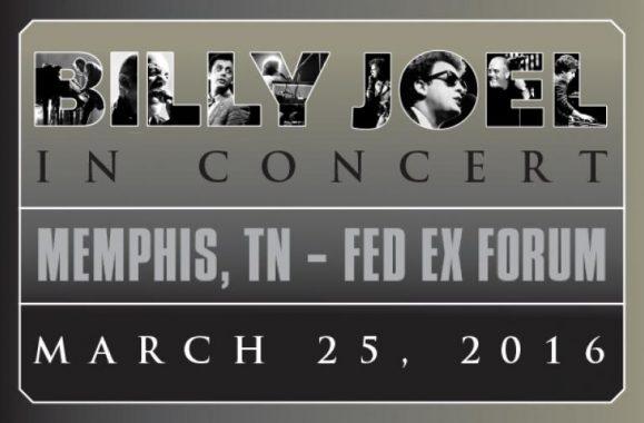 Billy Joel Announces Memphis Concert March 25, 2016