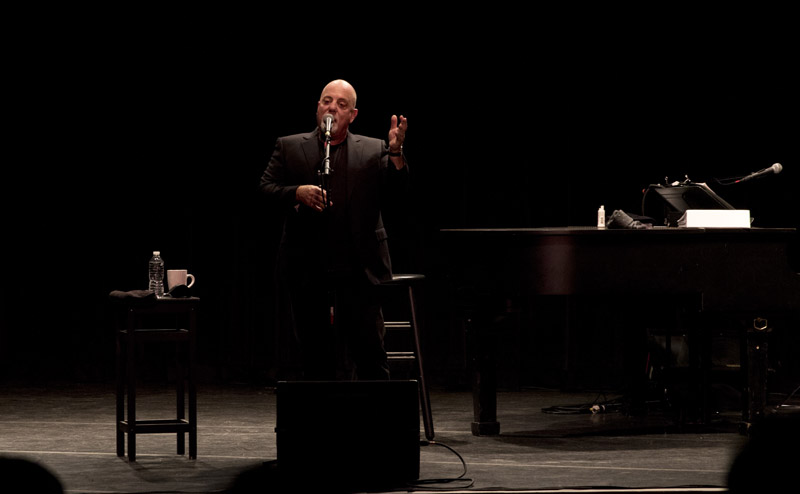 Billy Joel at LIU Post Hillwood Recital Hall in Brookville, NY, on February 8, 2016
