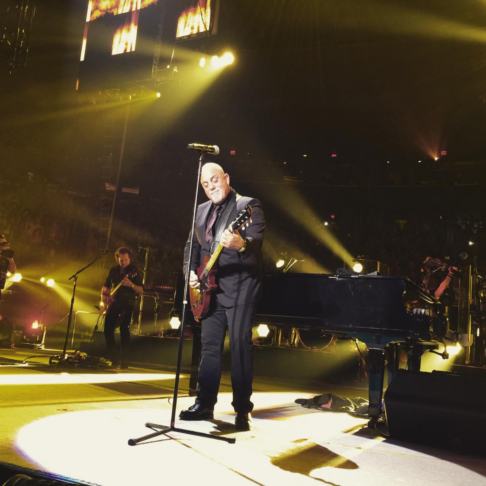 Billy Joel at Madison Square Garden 4/3/2015 - Billy Joel Official Site