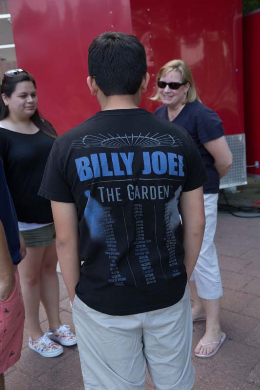 Fan with MSG Shirt at M&T Bank Stadium, Baltimore 072515