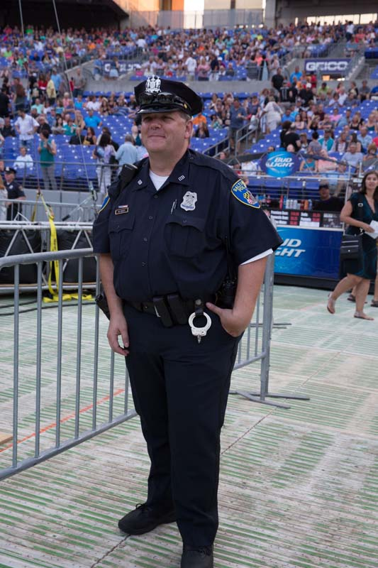Officer O'Leary is walkin' the beat