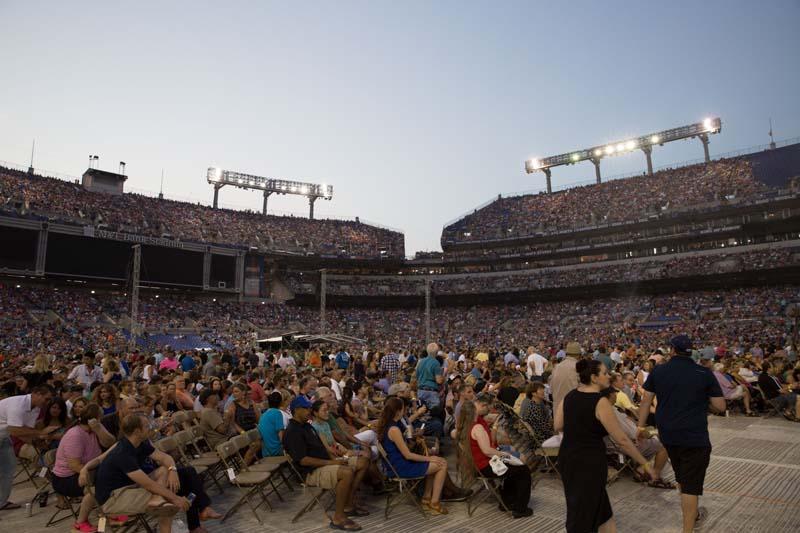 Inside M&T Bank Stadium, Baltimore 072515
