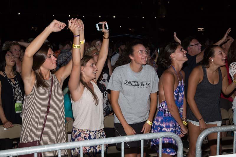 Fans at' M&T Bank Stadium, Baltimore 072515