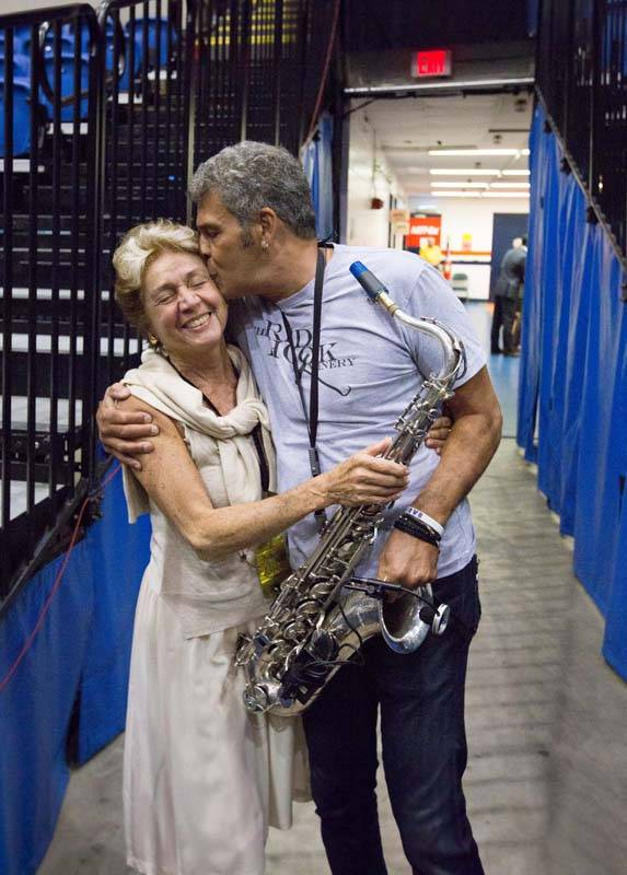 Harriette Delsner and Mark Rivera