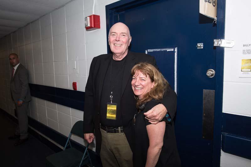 Joe Douyle and Liz Mahon