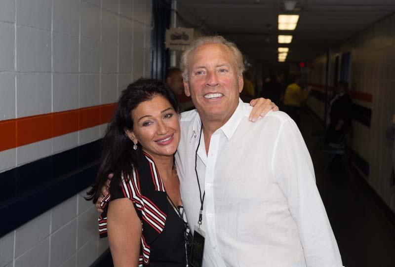 Claire Mercuri and Dennis Arfa
