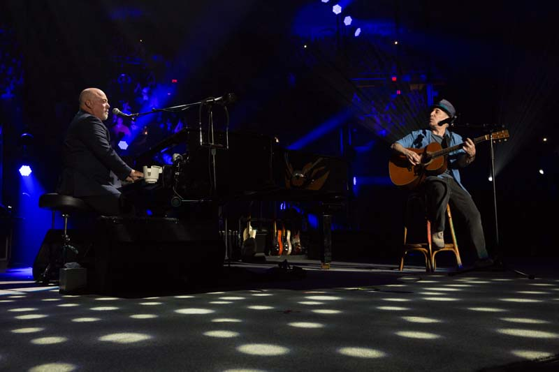 Billy Joel and Paul Simon