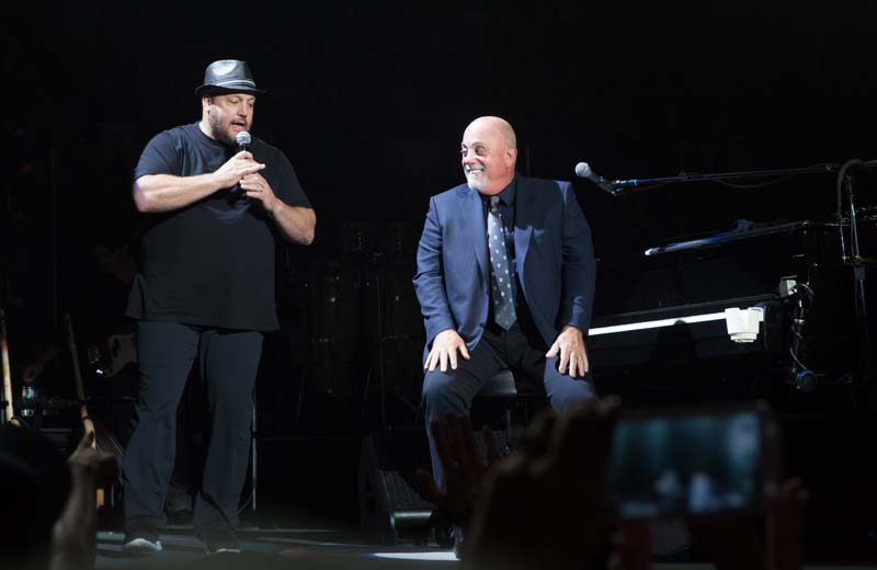 Billy Joel and Kevin James