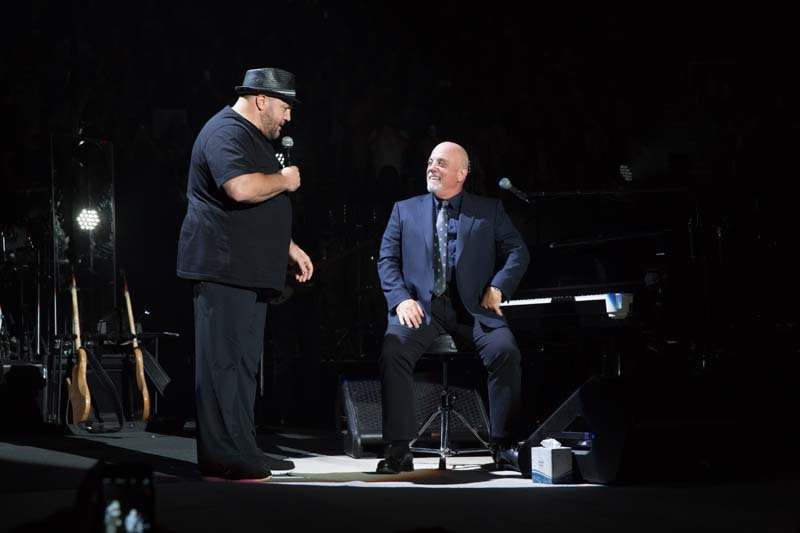 Kevin James and Billy Joel