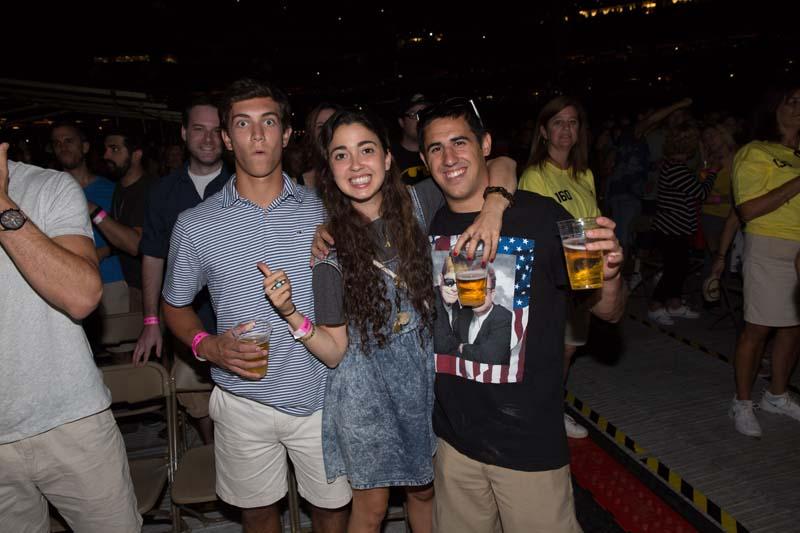 Fans at Citizens Bank Park, August 13, 2015