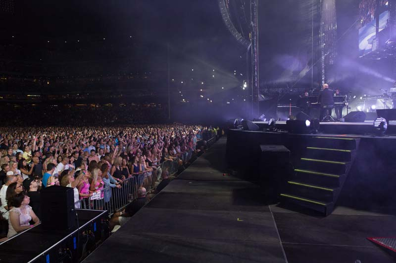 Billy Joel live  at Citizens Bank Park, August 13, 2015