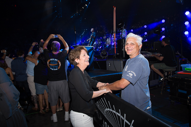 Theresa and Bill Zampino at MSG 082015