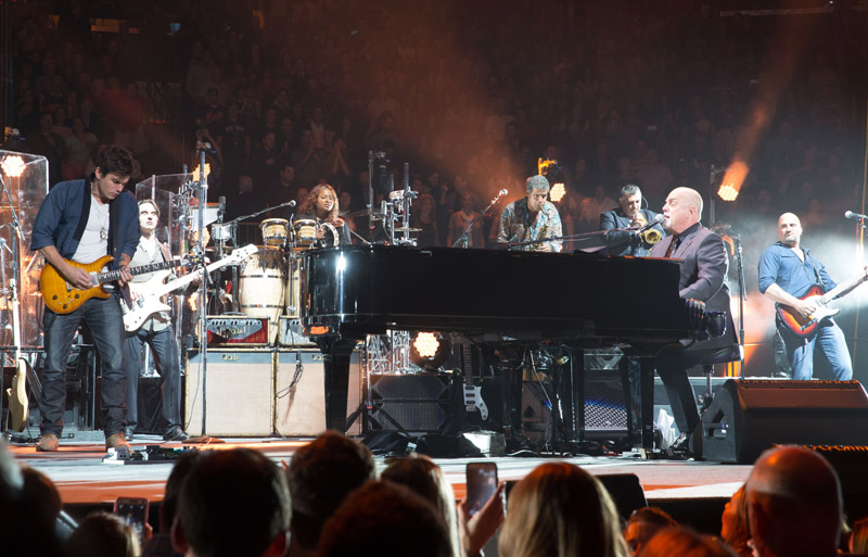 John Mayer and Billy Joel Live at MSG 102115