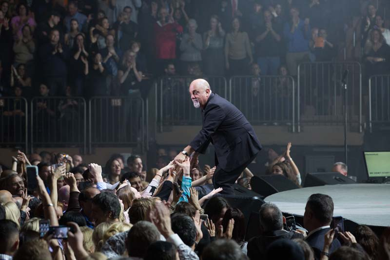Billy Joel at MSG on Nov 25, 2014