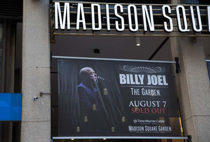 Billy Joel At Madison Square Garden August 7 2014 Photo 5 Billy Joel Official Site