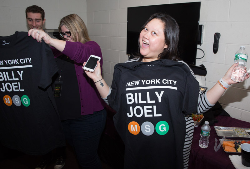 New T-shirt, Billy Joel Live At MSG, January 7th, 2016