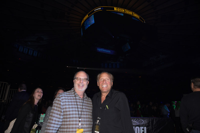 Adam Kornfeld & Dennis Arfa at MSG, January 7th, 2016