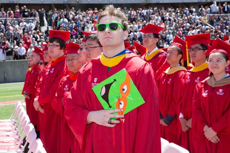 Stony Brook University Commencement 2015 (Photo 16)