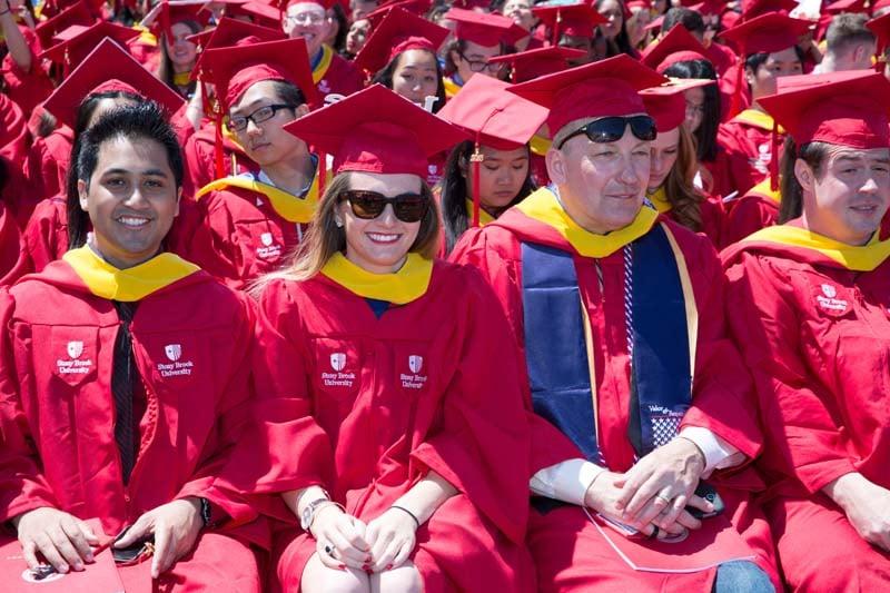 Stony Brook University Commencement 2015 (Photo 17)