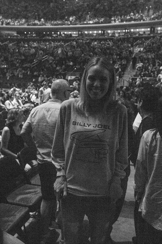Fan with a vintage T-Shirt at MSG