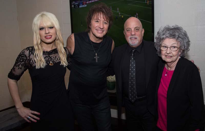 Orianthi Panagaris, Richie Sambora, Billy Joeland Joan Sambora