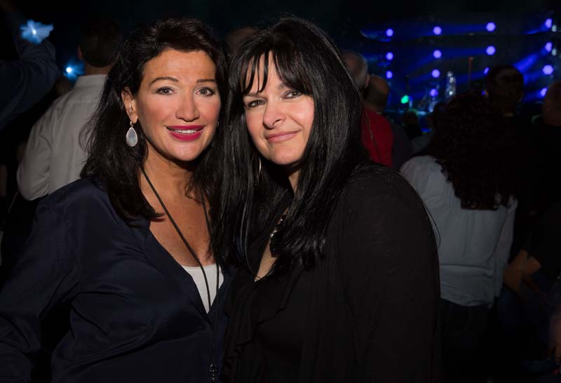 Claire Mercuri and her sister Adriene at MSG