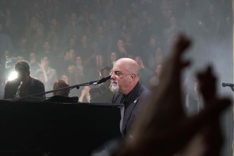 Billy Joel At Madison Square Garden New York, NY – February 18, 2015 (Photo 42)