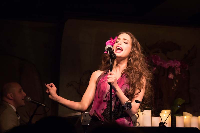 Alexa Ray Joel At Café Carlyle 2015 (Photo 35)