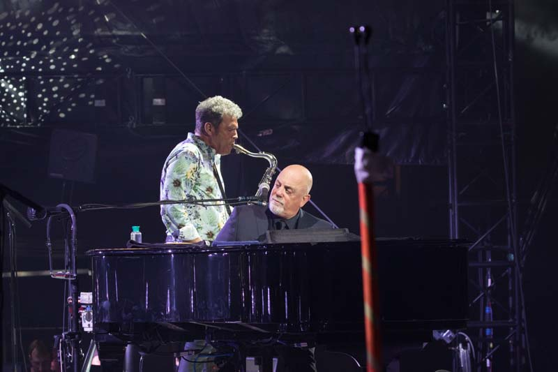 Mark Rivera and Billy Joel live at M&T Bank Stadium, Baltimore 072515