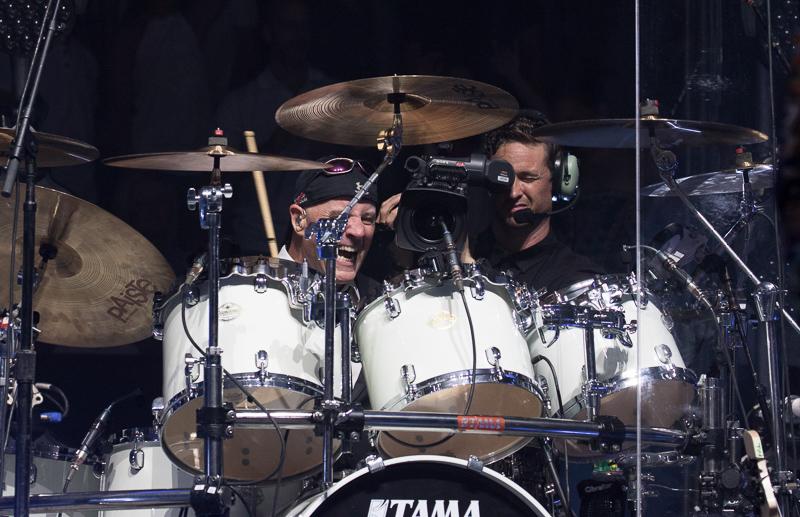 Chuck Burgi live at MSG 082015
