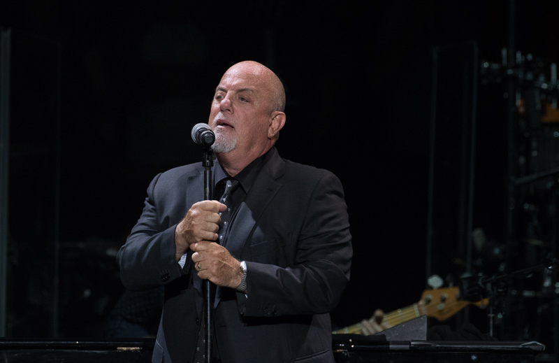 Billy Joel live at MSG 082015