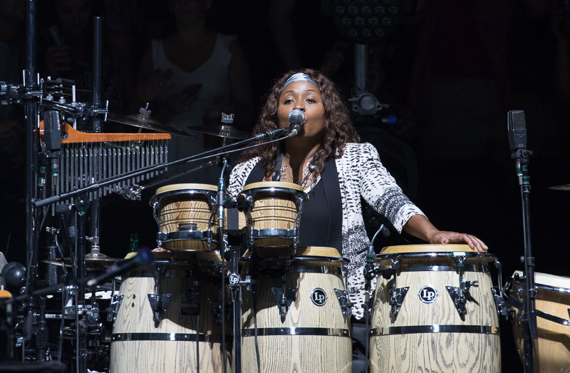 Crystal Taliefero live at MSG 082015