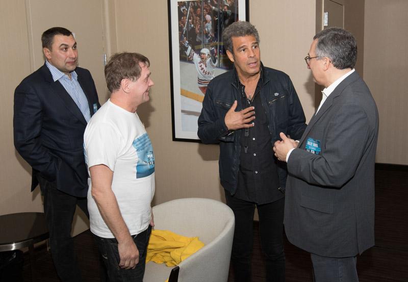 Andrew, Viktor, Mark and Oleg at MSG 102115