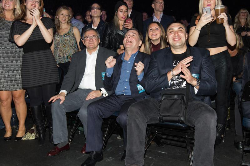 Oleg, Viktor and Andrew enjoying the show at MSG 102115