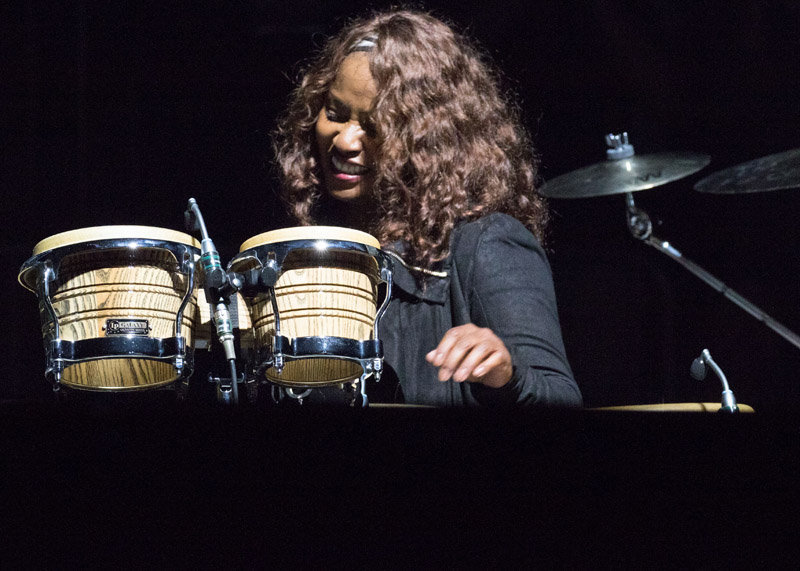 Crystal Taliefero live at MSG 102115