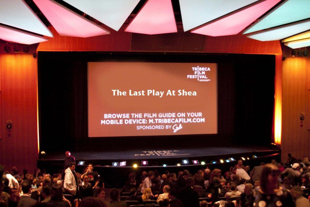 Tribeca Red Carpet: Last Play at Shea