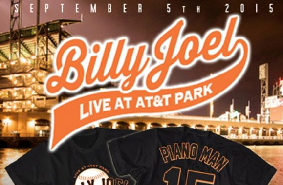 New Billy Joel T-Shirts Available Now!