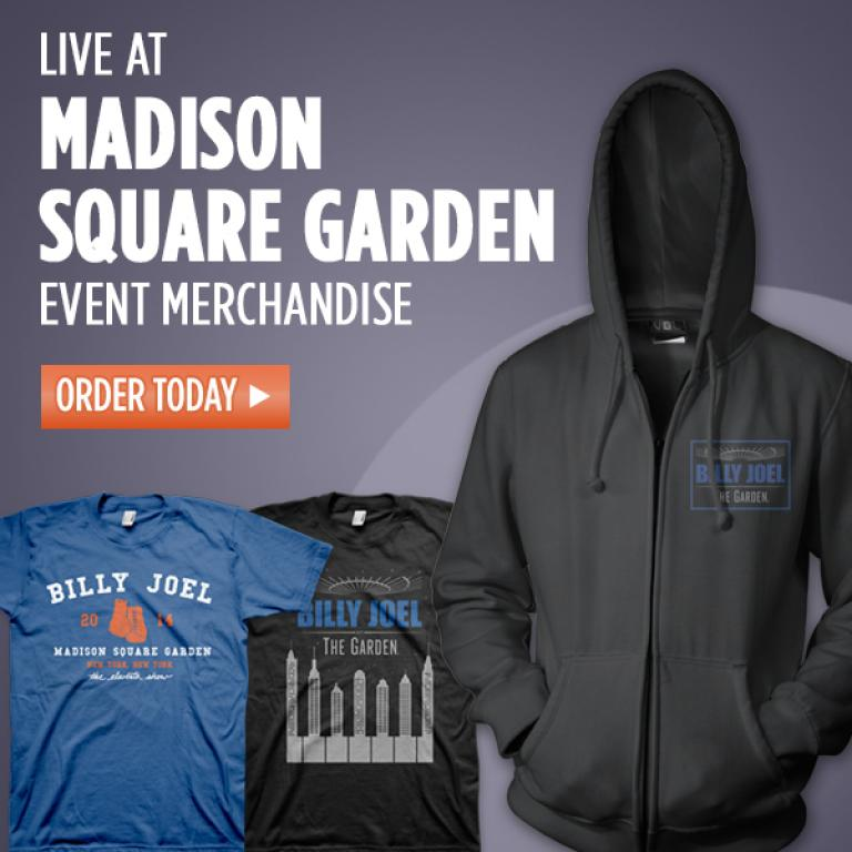 Billy Joel Madison Square Garden Merch Available Now Billy Joel Official Site
