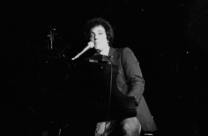 Billy Joel performs at Havana Jam at Karl Marx Theatre March 4, 1979