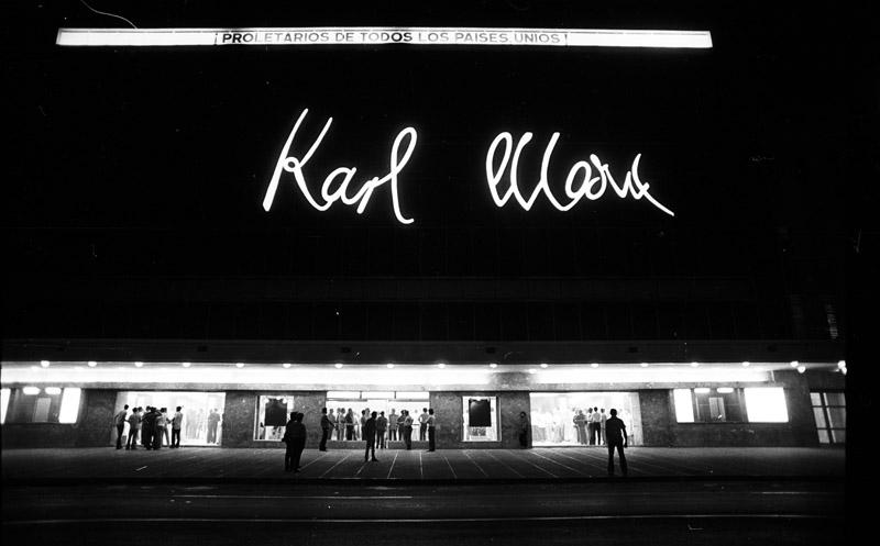 Karl Marx Theatre in Havana March 1979