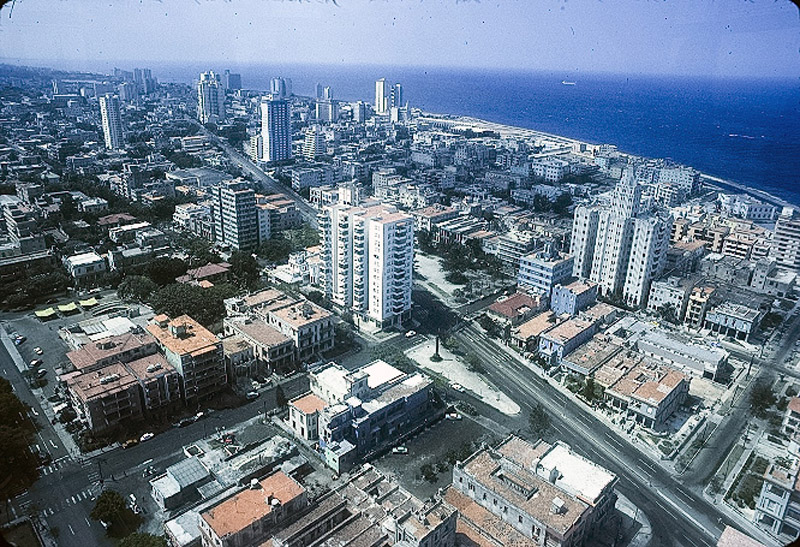 Aerial view of Havana March 1979