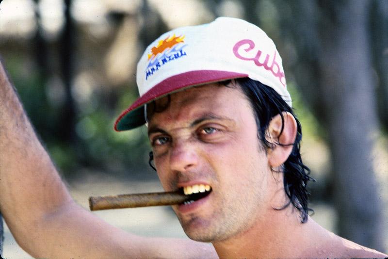 Billy Joel Cuban cigar in Havana