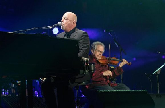 Billy Joel Joined By Itzhak Perlman At MSG Show March 15 – Exclusive Photos