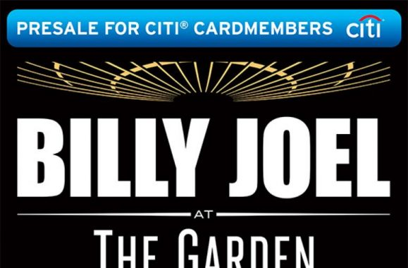 Billy Joel MSG Promoted In The Sunday Times – Presale On Now!