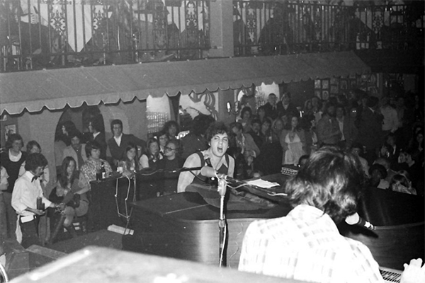 Billy Joel 1974 concert at Lafayette's Music Room in Memphis