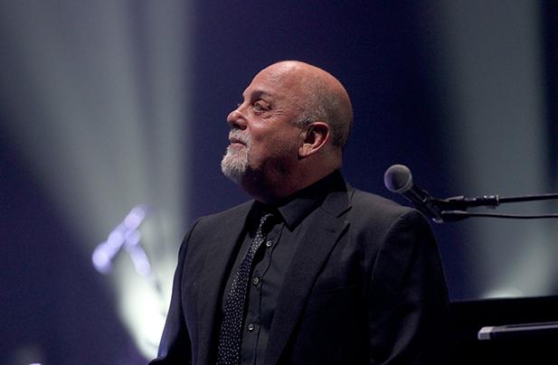 Billy Joel performs at FedExForum in Memphis, TN on March 25, 2016