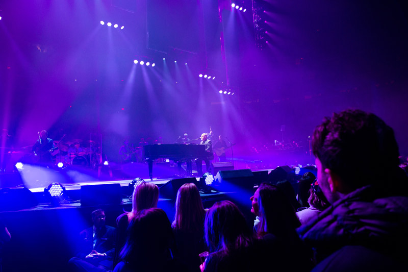 Billy Joel at Madison Square Garden, February 13